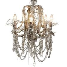 shabby chic fantasia chandelier