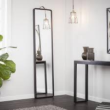 Latitude Tile And Decor Popular Modern Floor Mirror Pertaining To Latitude Run Leaning Full 47
