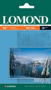 <b>Фотобумага Lomond</b> 100x150 <b>180g</b>/<b>m2</b> матовая односторонняя ...