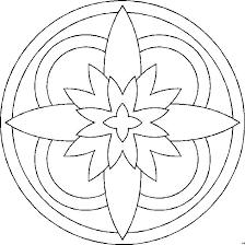 Mandala Kleurplaat 19