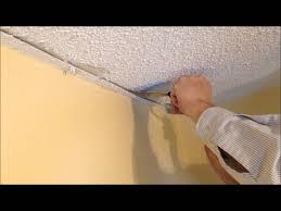 ceiling crack repair.  Repair How To Repair A Stucco Ceiling Crack And Re Attach Drywall Tape And Ceiling Crack Repair K