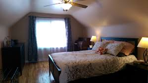 Slanted Roof Bedroom Hickory Brick House Update Ibelonginabook