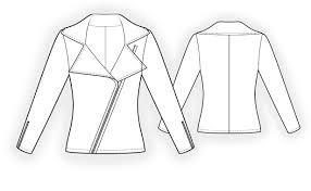 Sweatshirt Pattern Simple Sweatshirt Sewing Pattern 48 Madetomeasure sewing pattern
