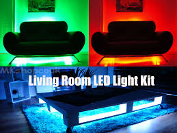 Mood Lighting Living Room 5m 300 Led Mood Lighting Ideas Tv Back Lights 16 Colour Changing