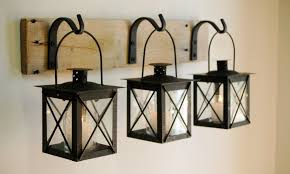 wrought iron wall lamps decor
