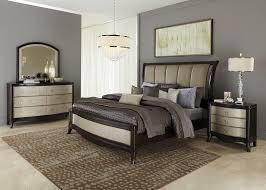 Modern Sleigh Bedroom Sets Amazing Ibiza Modern Bedroom Set Bed Dresser Mirror And 2