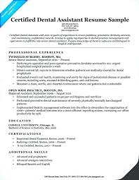 Orthodontic Assistant Resume Sample Student Dental Assistant Resume Free Download Template