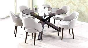 fresh round glass top table and amazing glass circle dining table tree trunk dining table india