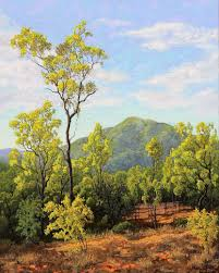 gallery website of contemporary australian landscape artist michael hodgkins featuring australian landscape paintings in oils and australian artworks for
