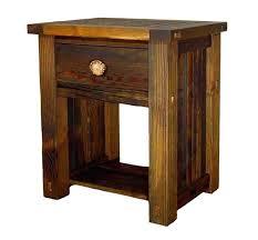 how to build rustic furniture. Unique Furniture Rustic Nightstand  In How To Build Rustic Furniture
