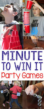 10 Awesome Minute To Win It Games Happiness Is Homemade