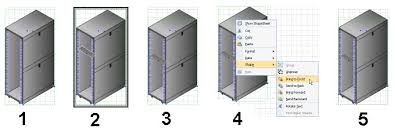 simulating 3d with isometric visio shapes
