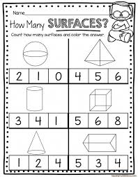 geometry worksheets kindergarten shape worksheets geometry ...