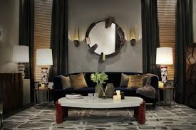 living room wall mirror best of 8 ideas to use a round mirror in a large