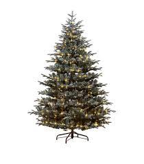 Grey Christmas Tree Harrods Pre Lit Grey Frosted Mountain Spruce Tree6ft Harrodscom