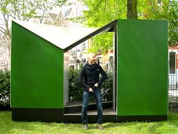 Easehouse Pop-Up Toilet is an Outhouse with a View in Rotterdam