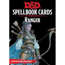 Ranger D D D D 5th Edition Rpg Spellbook Cards Ranger Version 3