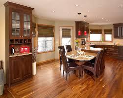 walnut hardwood floor. Walnut Hardwood Floor In Kitchen Contemporary-kitchen Walnut