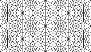 Lattice Pattern Inspiration Traditonal Persian Art In Black And White Lattice Pattern Royalty