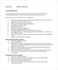 Sample Job Description - 10+ Examples In Pdf, Word