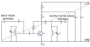schematic diagram of amplifier booster on schematic images free Kenwood Amplifier Wiring Diagram fm booster~active fm antenna amplifier electronic circuits kenwood amp wiring diagram