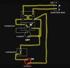 electric water heater wiring with diagram Geyser Thermostat Wiring Diagram water heater wiring diagram geyser element wiring diagram