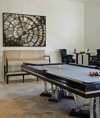 kitchen room pull table: contemporary pool table family room transitional with annie santulli designs art