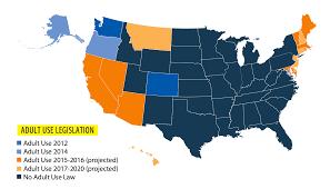 least pot friendly states