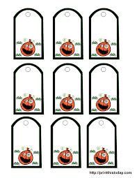 Halloween Tag Templates Under Fontanacountryinn Com