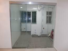kitchen sliding gl door designs