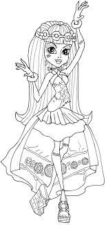 Small Picture Monster High Frankie Coloring Pages GetColoringPagescom
