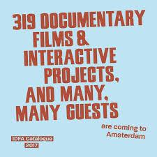 IDFA Catalogue 2017 by IDFA International Documentary Film Festival ...
