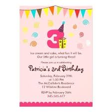 Sample Of Birthday Invitation Emailers Co