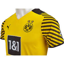Bayern munich, borussia dortmund and the rest of the bundesliga teams will be turning out in fine style once again in 2021/22. 2021 22 Puma Borussia Dortmund Home Jersey Soccerpro