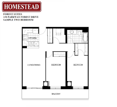 Forest Suites Homestead - Two bedroom suites toronto