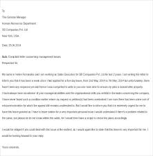 Sample Complaint Letter About An Employee - Kleo.beachfix.co