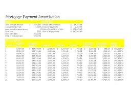 Loan Amortization Ule Calculator Excel Repayment Extra