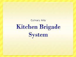 Hotel Kitchen Hierarchy Chart Kitchen Brigade System Ppt Video Online Download