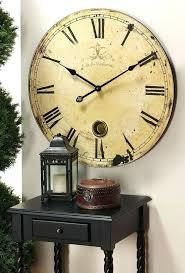 large decorative wall clocks clock kitchen oversized big next