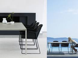 patio things cane line breeze indoor or outdoor dining chair designed by the danish duo strand hvas