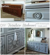 chalk paint furniture diyHow To Makeover a 1970s Stereo  What Meegan Makes