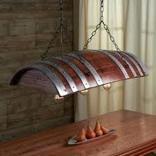 lighting wine one third oak barrel chandelier wood lamps restaurant bar pendant track for cellar lighting wine and mar bottle cellar