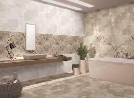 bathroom walls and flooring