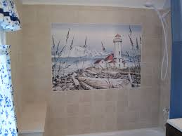 bathroom shower tile photos. coastal shower tile mural idea bathroom photos y