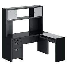 black l shaped desk with hutch fireplace cool l shaped desk with hutch for office furniture