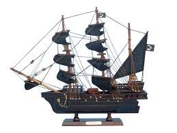 wooden thomas tews amity model pirate ship 14