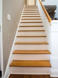 How to Step Up Your Stair Risers With Wallpaper - on HGTV
