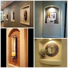 wall niche lighting. Contemporary Wall How To Decorate A Niche More For Wall Niche Lighting
