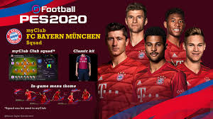 It is best known for its professional football team, which plays in the bundesliga, the top tier of the german football league system, and is the most successful club in german football history, having won a record 28 national titles and 18 national cups. Fc Bayern Munchen Konami Official Partnership Pes Efootball Pes 2020 Official Site