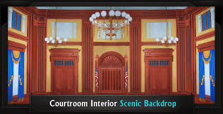 office backdrops. Courtroom Interior Professional Scenic Legally Blonde Backdrop. CONTEMPORARY OFFICE Office Backdrops N